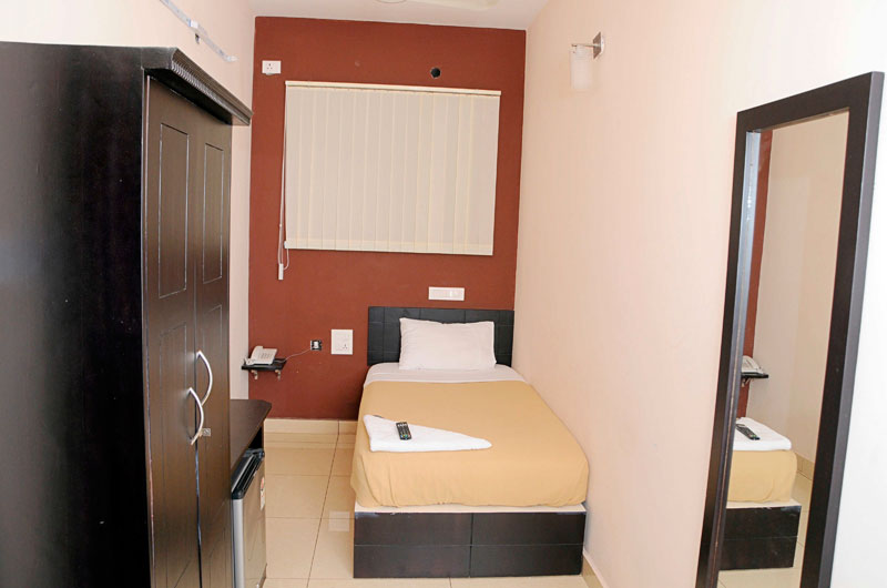 Studio Non AC Room at Hotel Sri Krishna Residency
